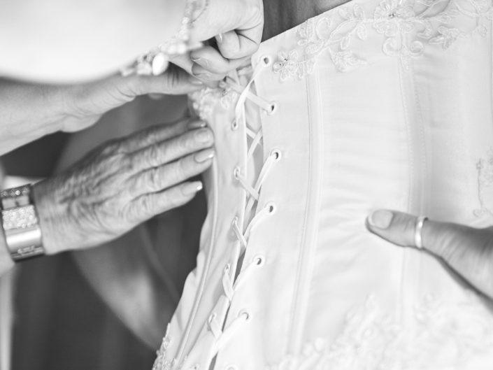 Bustier de mariée