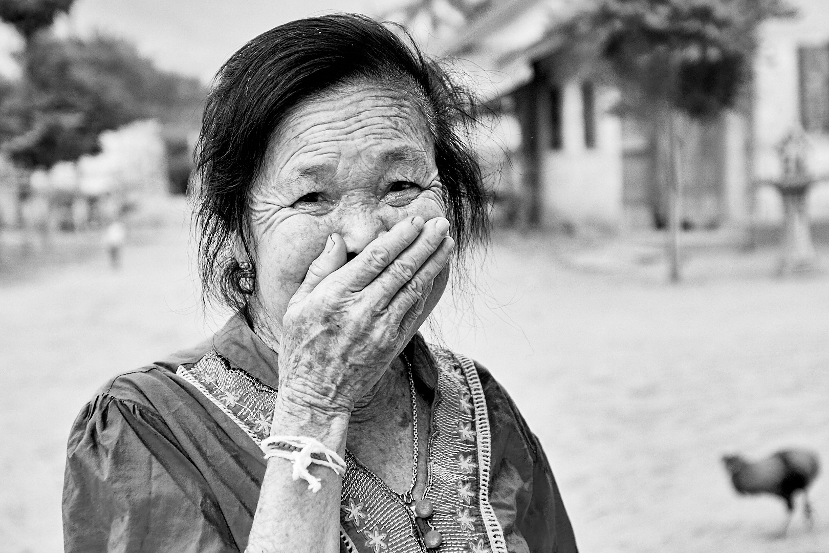 Portrait villageoise laos