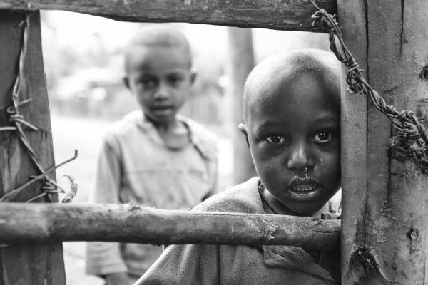 Pvk Photo | Portraits de voyage | Portrait d'enfants ethiopiens, à Wondo Genet